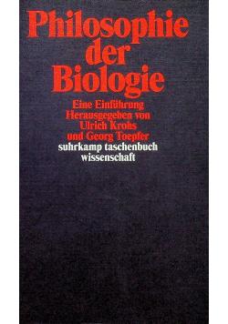Philosophie der biologie
