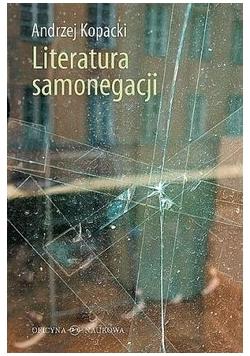 Literatura samonegacji