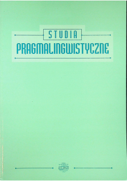 Studia pragmalingwistyczne