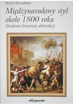 Międzynarodowy styl około 1800 roku