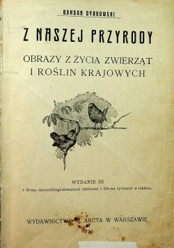 Z naszej przyrody 1915 r.