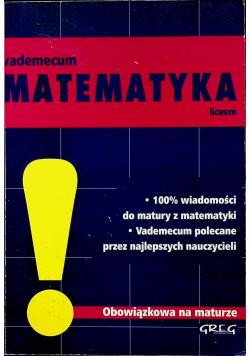 Vademecum Matematyka