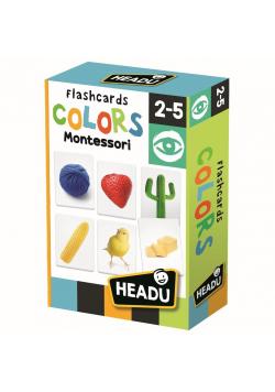 Montessori Fiszki Kolory HEADU