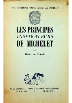 Les principes inspirateurs de Michelet