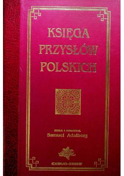 Księga przysłów polskich reprint z 1894r