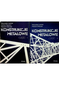 Konstrukcje metalowe część 1 i 2