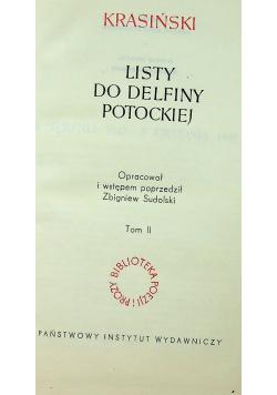 Listy do Delfiny Potockiej Tom 2