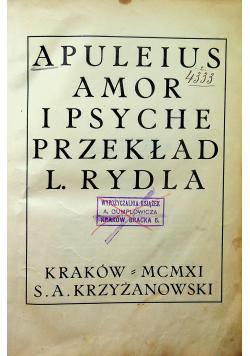 Apuleius Amor i Psyche 1911 r