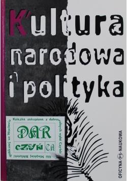 Kultura narodowa i polityka