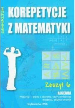 Korepetycje z matematyki 6 Algebra...