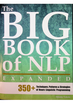 The big book of NLP expanded