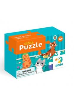 Puzzle 35 mini Szalone koty