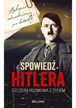 Spowiedź Hitlera. Szczera rozmowa z Żydem pocket