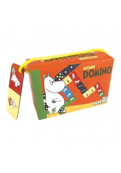 Domino dla Dzieci Gra Logiczna Kuferek Muminki