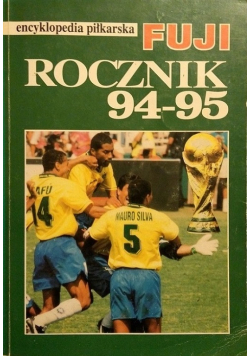 Encyklopedia piłkarska FUJI Rocznik 94 95
