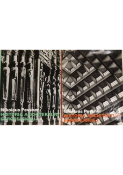 Historia architektury europejskiej 2 tomy