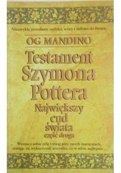 Testament Szymona Pottera