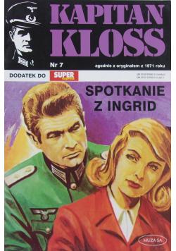 Kapitan Kloss Nr 7 Spotkanie z Ingrid