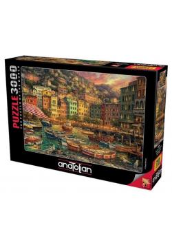 Puzzle 3000 Włochy, Kolorowa zatoka