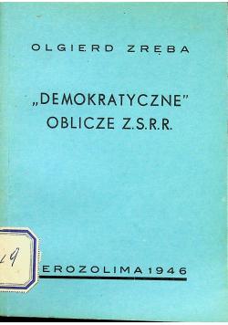 Demokratyczne Oblicze ZSRR 1946 r.