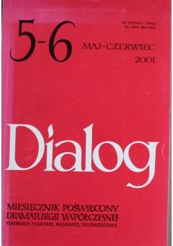 Dialog 2001 Maj Czerwiec Miesięcznik poświęcony dramaturgii współczesnej