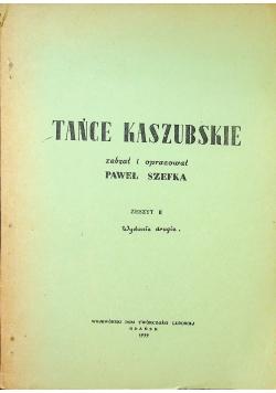 Tańce kaszubskie zeszyt II 1939 r