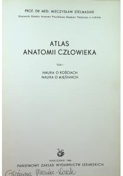 Atlas anatomii człowieka Tom I