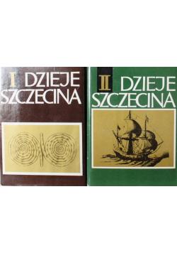 Dzieje Szczecina Tom I i II