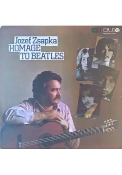 Jozef Zsapka Homage to Beatles płyta winylowa