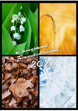 Kalendarz 2022 z ks. Twardowskim - 4 pory roku