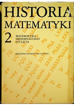 Historia Matematyki 2 Matematyka Siedemnastego stulecia