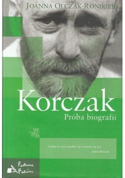 Korczak Próba biografii