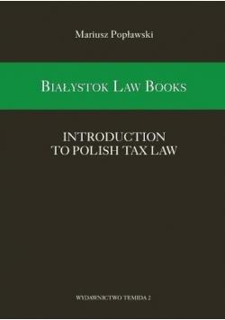 Białystok Law Books  Introduction to Polish Tax Law