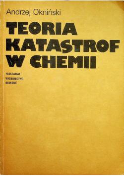 Teoria katastrof w chemii