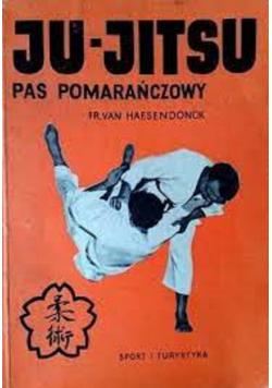 Ju jitsu pas pomarańczowy