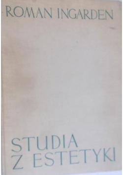 Studia z estetyki tom II