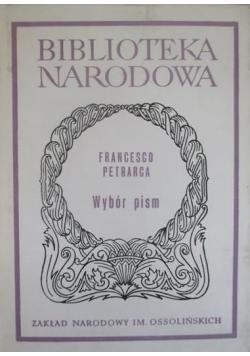 Wybór pism Petrarca