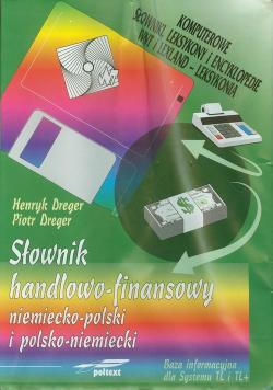 Słownik handlowo finansowy niemiecko-polski polsko-niemiecki