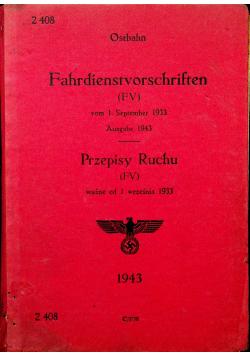 Przepisy Ruchu 1943 r.