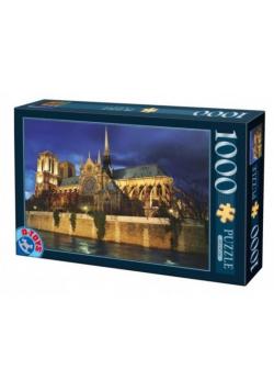 Puzzle 1000 Francja, Paryż- Katedra Notre Dame