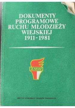 Dokumenty programowe ruchu młodzieży wiejskiej 1911-1981
