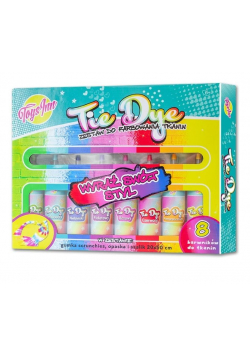 Zestaw do farbowania tkanin Tie Dye STnux