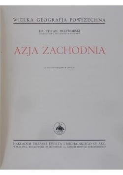 Azja zachodnia reprint 1934 r.