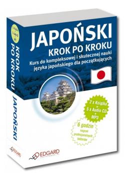 Japoński. Krok po kroku (2xksiążka + 5xCD + MP3)