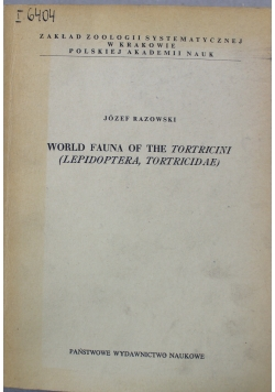 World Fauna of The Tortricini