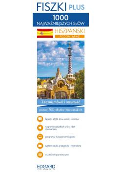 Hiszpański 1000 najważniejszych słów Fiszki Plus
