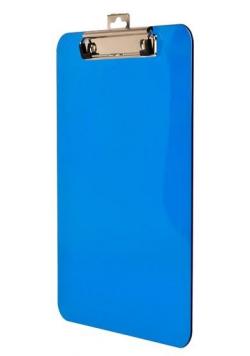 Deska z metalowym klipem A4 niebieska BD641-N