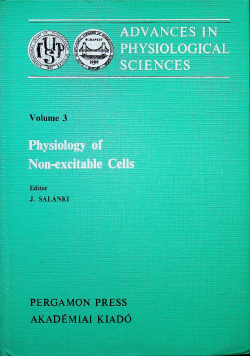 Physiology of Non excitable Cells