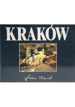Kraków z lotu ptaka