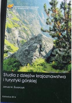 Studia z dziejów krajoznawstwa i turystyki górskiej